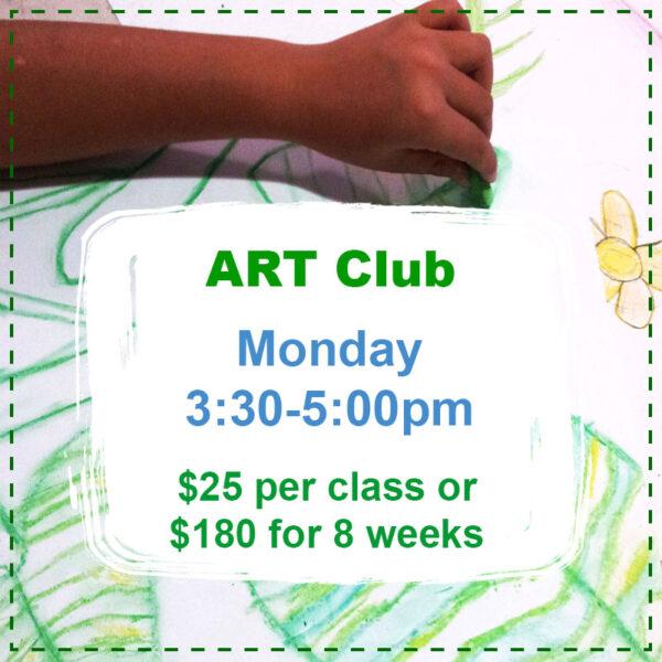 art club mondays