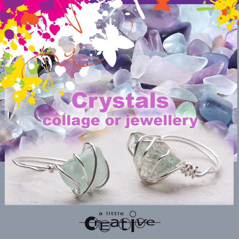 Sunshine Coast art crystal jewellery